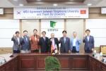 동명대가 베트남 탄도대학교와 교류협력 MOU를 체결했다