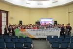한국도서관협회 이상복 회장을 단장으로 한 13명의 대표단이 2017 브로츠와프 세계도서관정보대회에 참가해 한국어 참가자 모임, 한국인의 밤 등의 행사를 진행했다. 사진은 세계도서관정보대회 한국어 참가자 모임