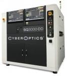 사이버옵틱스 코퍼레이션이 NEPCON South China 전시회의 1J45 부스에서 두 개의 2개의 다중반사억제 센서를 탑재한 신제품 SQ3000-DD 3D 자동광학검사 시스템을 선보인다
