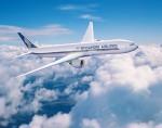 싱가포르항공이 세계 최대 모의비행장치 제작사인 CAE와 비행훈련센터 설립을 위한 투자 협약을 체결했다. 사진은 싱가포르항공기 전경
