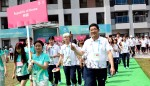 타이페이 U대회에 참석한 대한민국 선수단이 선수촌 입촌식을 가졌다