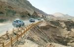 쌍용자동차가 G4 렉스턴 유라시아 대륙횡단의 첫 번째 여정인 동아시아의 중국 횡단 코스를 성공적으로 마무리 했다고 밝혔다