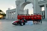 경희대 자동차 제작동아리 KHARS가 자작 자동차 대회에 참가해 자동차 최적화 설계부문 1등을 차지했다