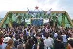 리미엄 맥주 브랜드 하이네켄이 펜타포트 락 페스티벌에 공식 파트너로 참여해 하이네켄 그린 스테이지를 선보이며 행사 현장을 더욱 뜨겁게 달구었다