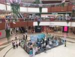 아미코스메틱이 중국 왓슨스 매장 오픈을 기념하여 프로모션을 실시했다