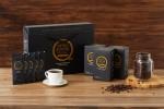 쏠렉이 출시한 콜드브루 커피 커피앤부스팅(좌)과 해양심층수 블루원