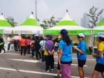 솔가비타민이 지난 주말 마라톤대회 3곳에 에스터C를 협찬했다
