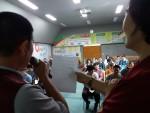 순천시장애인종합복지관이 개최한 자기주장교육 행사