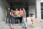 순천시장애인종합복지관이 한국전력공사 순천지사와 재가장애인에게 추석선물을 전달했다