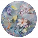 생의화음, 60cm, Mixed Media on Canvas, 2013