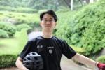 우비크가 이륜차 전용 블랙박스, 스마트폰 거치대를 개발해 2018년 1월 출시할 예정이다. 사진은 우비크 최준혁 대표