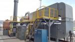 안산 스마트허브 염색단지에 위치한 전기집진 및 촉매오존 고도산화기술을 이용한 350 CMM(m3/min) 실증 설비