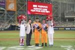 넥센타이어가 프로야구단 넥센히어로즈와 함께 9월의 이 달의 히어로 캠페인을 9월 3일 진행했다