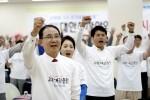 대한주차산업협회는 13일 서울 송파에서 개최된 임시총회에서 한 목소리로 2018 평창동계올림픽에 대한 응원을 하고 국토교통부 김현미 장관에게 다음 릴레이응원을 요청했다