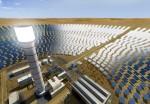 두바이 수전력청(DEWA)의 프로젝트로 세계 최대인 260미터 높이의 태양광 타워가 건설된다(사진: AETOS Wire)
