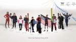 비자가 2018 평창 동계 올림픽에서 금메달을 다툴 팀비자 선수들의 명단을 발표했다