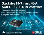 TI가 고정 주파수·초고속 과도 응답 및 내부 보상 기능을 탑재한 차별화된 새로운 DC/DC 컨버터 제품을 출시한다