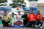쌍용자동차가 평택지역의 대표 행사인 평택항 마라톤 대회를 후원하며 지역사회 알리기에 동참했다