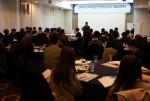 서울 프레지던트 호텔에서 열린 임베디드SW전문인력양성사업 기술교류회에서 KESSIA 민경오 회장이 격려사를 하고 있다