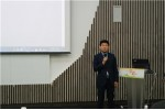 이상복 한국도서관협회 회장이 인사말을 하고 있다