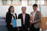 금천구시설관리공단이 국가생산성대상 팀 부문 동상을 받았다