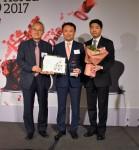 KLA-Tencor 코리아가 2017 한국 최고의 직장 본상을 수상했다