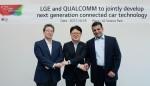 LG전자가 이동통신 반도체 분야의 대표기업인 퀄컴사와 함께 자율주행차 부품시장 선점에 나선다