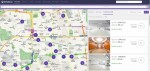 리퍼블릭의 사무실 검색 화면