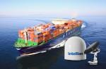 인텔리안테크놀로지스가 대한민국 대표 선사인 현대상선에 해상용 초고속 위성안테나 VSAT 공급업체로 선정되었다