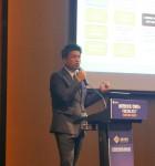 안랩이 여의도 콘래드 호텔에서 진행된 금융정보보호 컨퍼런스 FISCON 2017에 참가해 금융권 보안 담당자를 대상으로 보안 전략을 제시했다