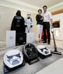삼성전자가 영화 스타워즈: 라스트 제다이의 개봉을 앞두고 삼성 진공청소기 주요 제품인 파워봇과 파워건의 스타워즈 에디션을 국내 시장에 출시한다