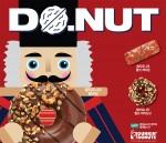 던킨도너츠가 캘리포니아 호두 도넛 3종을 출시했다