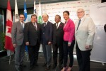녹십자가 30일 캐나다 퀘벡 주 몬트리올에서 허일섭 녹십자 회장, 캐나다 연방정부 및 퀘벡 주 정부 인사들이 참석한 가운데 캐나다 법인 Green Cross Biotherapeutics의 혈액제제 공장 준공식을 열었다