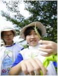 와숲에서 생태감수성을 키우는 어린이들