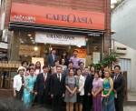 포스코 결혼이주여성 카페 창업 사업의 지원을 받은 카페 3호점과 4호점이 열렸다
