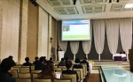 NCH코리아는 10일 제22회 환경정책설명회 및 최신기술 발표회에서 NCH 오폐수 사업부의 허성우  컨설턴트가 친환경 미생물을 이용한 폐수처리 시스템 구축 방안을 발표했다