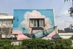 물빛마을여행사업단 물빛여행프로그램으로 진행한 은평구 수색동에 있는 마을 벽화