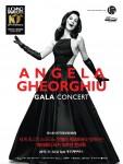 안젤라 게오르규와 함께하는 파바로티 서거10주년 콘서트 포스터
