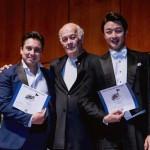 대구오페라하우스가 캐나다에서 열린 세계성악가대회에 한국 극장 최초로 초청돼 더욱 높아진 국제적 인지도를 증명했다. 왼쪽부터 외국인 성악가 상을 공동수상한 멕시코 바리톤 카를로스 로페즈, 세계성악가대회 위원장인 테너 Alain Nonat, 베이스 장경욱