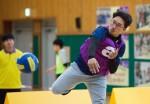 국립중앙청소년수련원장배 바운스파이크 볼 대회가 열렸다