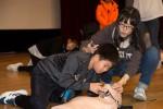 국립중앙청소년수련원이 17일부터 18일까지 2일간 일정으로 충남지역 초등학생 150여명이 참가한 가운데 청소년 생활체육 안전캠프를 진행하였다