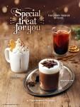프리미엄 디저트 카페 투썸플레이스가 크리스마스 시즌을 앞두고 겨울 음료 3종을 출시한다