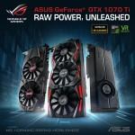 에이수스가 ASUS GeForce GTX 1070 Ti 시리즈를 출시했다