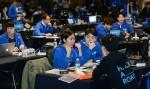 8일 오전 서울 강남구 파티오나인에 모인 40개팀 110여명 소프트웨어 개발자들에게 해커톤 대회 주제가 공개되면서 현대차그룹 해커로드 본선 대회의 막이 올랐다