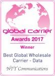최우수 글로벌 도매 캐리어 데이터 부문