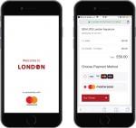 마스터카드는 영국 런던시와 손잡고 여행객들의 스마트한 관광을 지원하는 비짓 런던 공식 가이드 어플리케이션을 출시했다