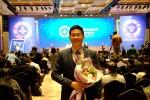 에듀팡 여원동 대표가 2017 청년기업인상 시상식에서 부총리 겸 교육부장관 표창을 수상하였다