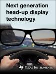 TI가 차량의 헤드업 디스플레이 시스템에 사용 가능한 차세대 DLP 기술을 출시했다