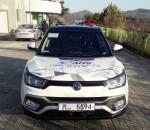 쌍용자동차가 국토교통부 주관으로 진행된 미래형 도로시스템 기반의 자율 협력 기술 시연에 참여해 자율주행차 기술 시연을 성공적으로 마무리 했다