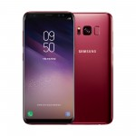 삼성전자가 갤럭시 S8 버건디 레드 신규 색상을 28일 국내에 출시한다